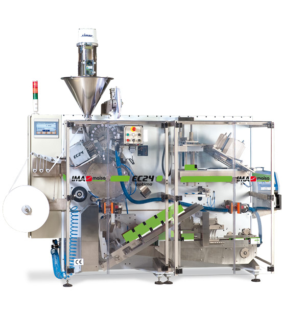 Food & Beverages IMA-maisa  SINGLE CHAMBER TEA BAG MACHINE