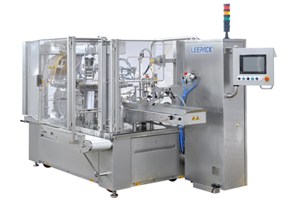 Food & Beverages<br>LEEPACK - Simplex Rotary Fill Seal Machine LEE0001